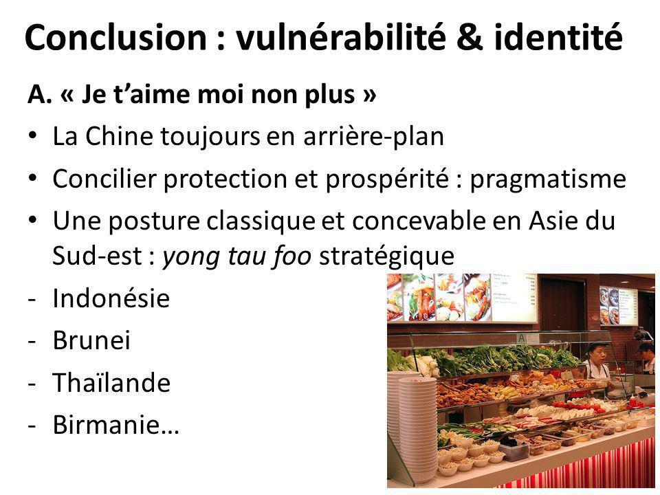 Conclusion : vulnérabilité & identité A.