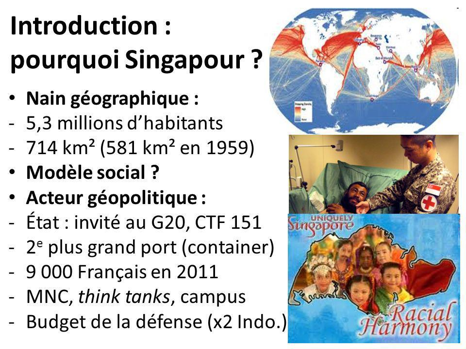 Introduction : pourquoi Singapour .