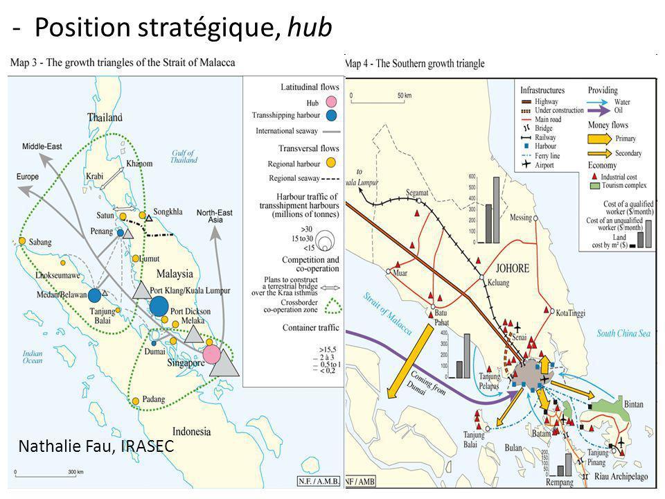 Nathalie Fau, IRASEC - Position stratégique, hub