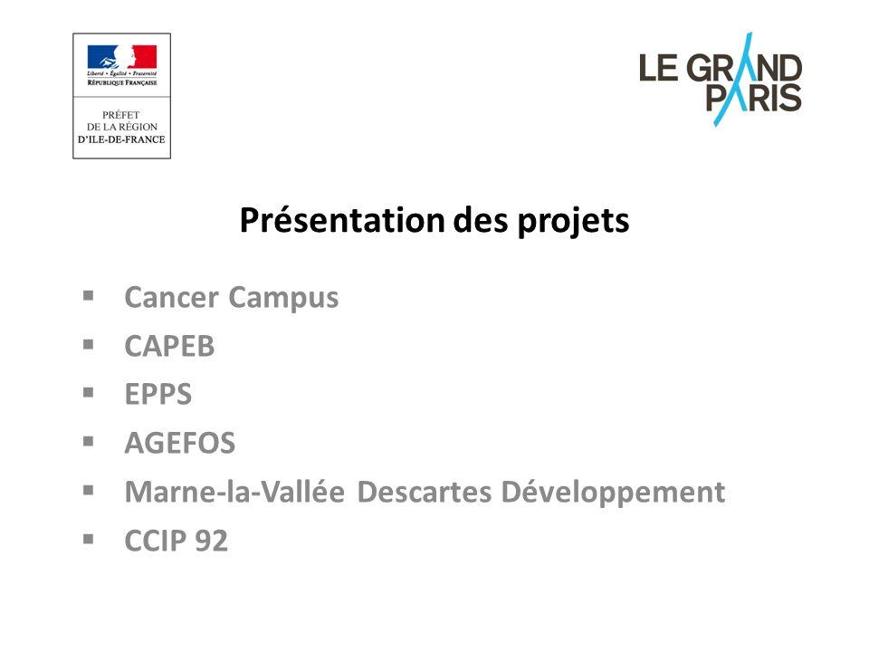 Présentation du projet Conférence de presse du 5 septembre 2012 AGEFOS PME Ile de France interviendra le volet Ressources Humaines et les trois axes prioritaires.