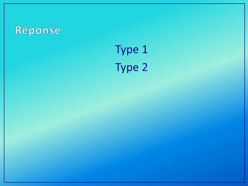 Type 1 Type 2