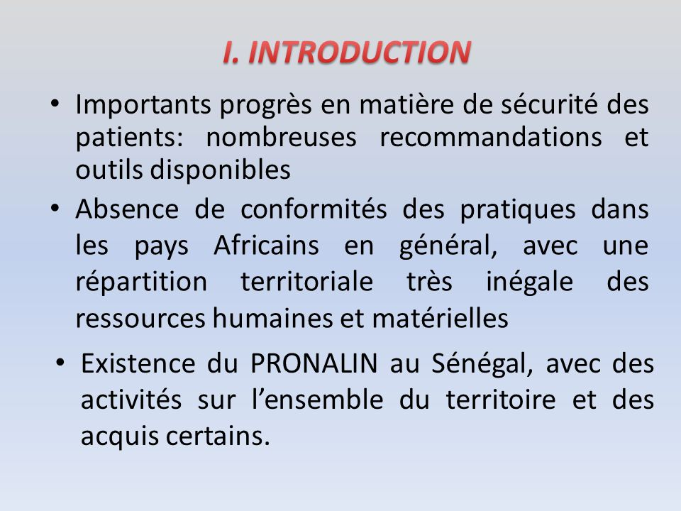 Objectifs du PASPA, basé sur lexpérience Sénégalaise: – proposer une formation adaptée aux besoins actuels de terrain pour les personnels de santé en Afrique (ressources humaines: 1 er défi à relever) – mettre en place des programmes nationaux opérationnels dans les pays, pour avoir des Meilleurs soins pour tous à chaque instant