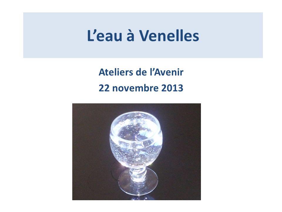 Leau à Venelles Ateliers de lAvenir 22 novembre 2013