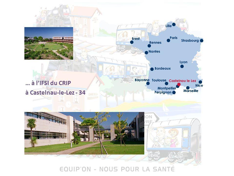 … à lIFSI du CRIP à Castelnau-le-Lez - 34