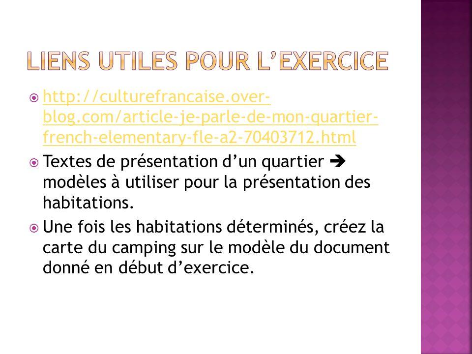 http://culturefrancaise.over- blog.com/article-je-parle-de-mon-quartier- french-elementary-fle-a2-70403712.html http://culturefrancaise.over- blog.com
