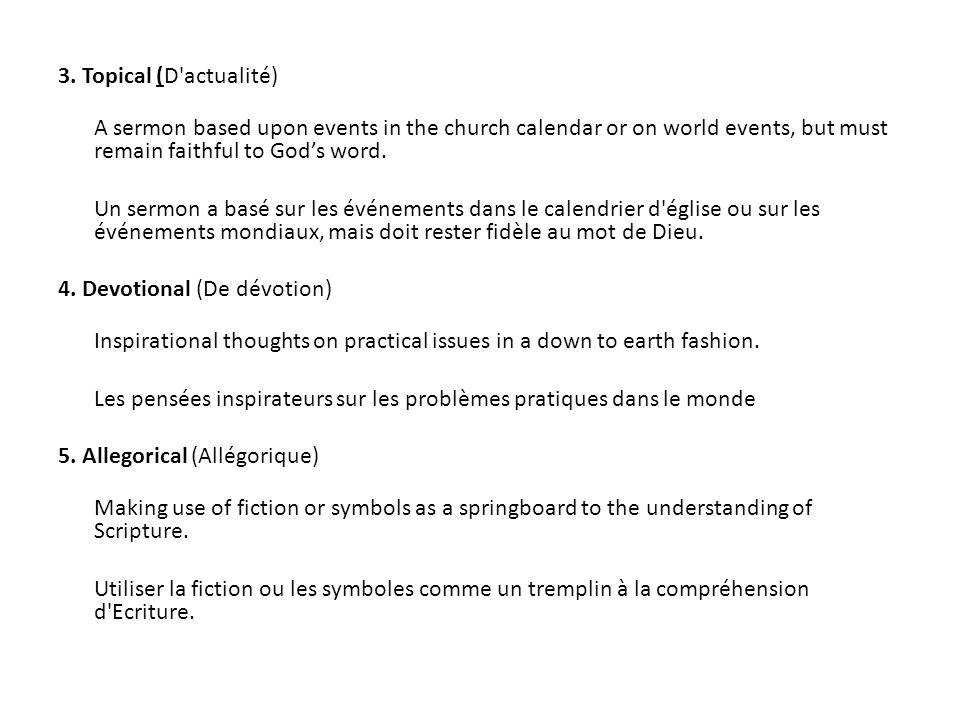 How to make an outline.(Comment faire un schéma .
