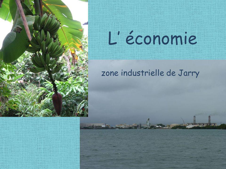 L économie zone industrielle de Jarry