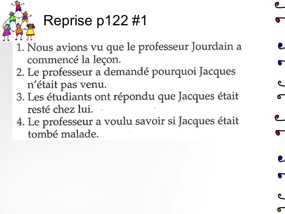 Reprise p122 #1