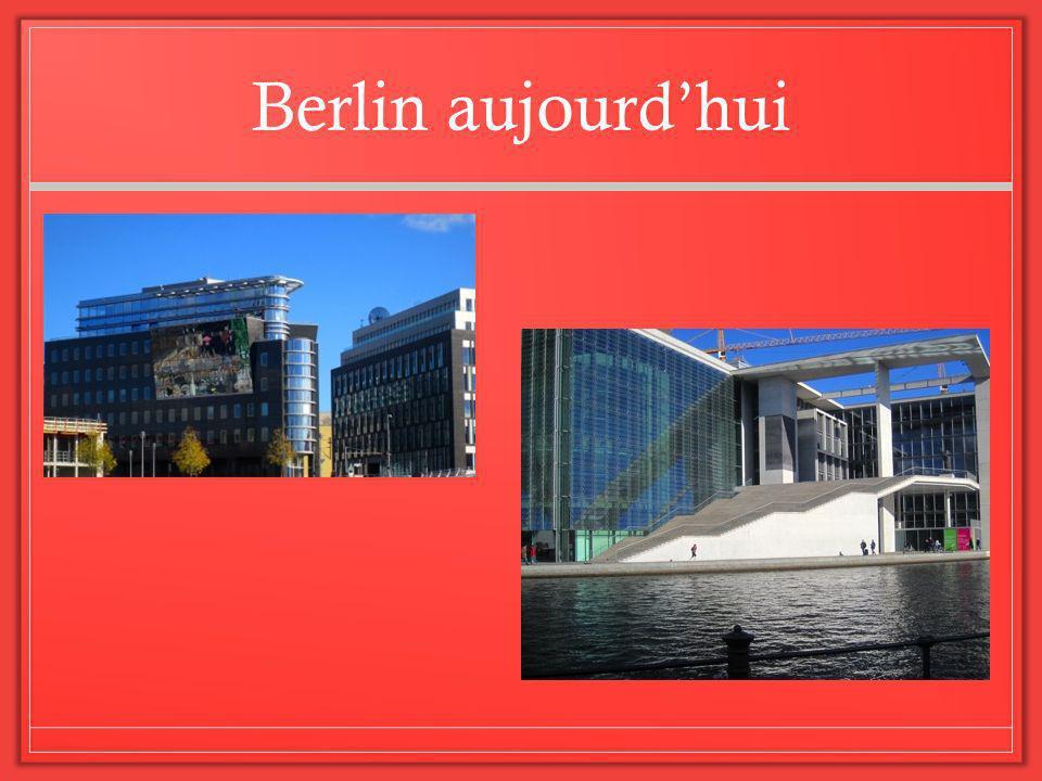 Berlin aujourdhui