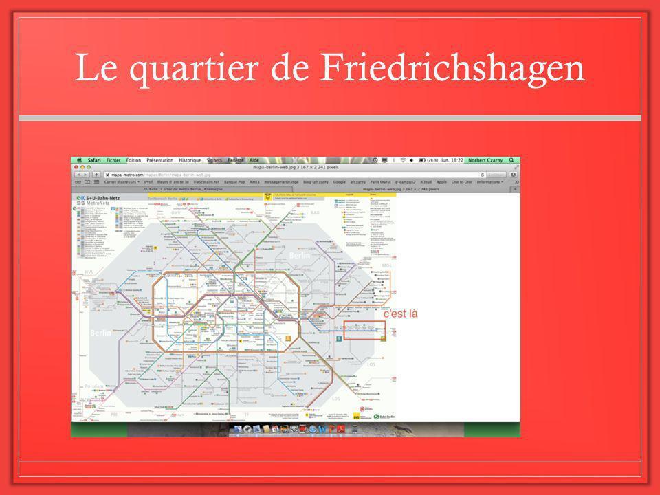 Le quartier de Friedrichshagen