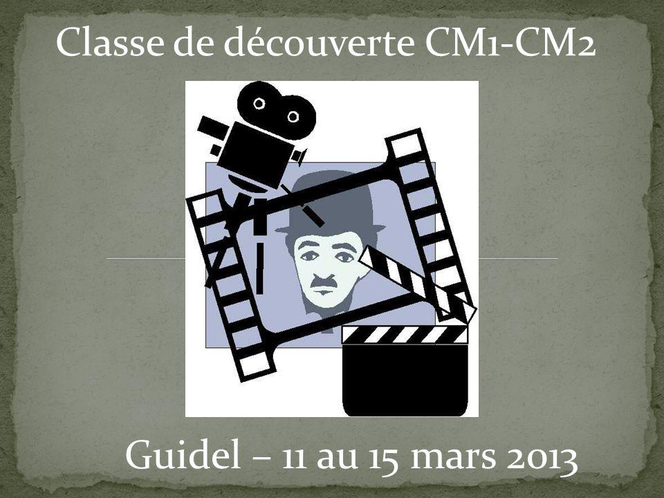 Classe de découverte CM1-CM2 Guidel – 11 au 15 mars 2013