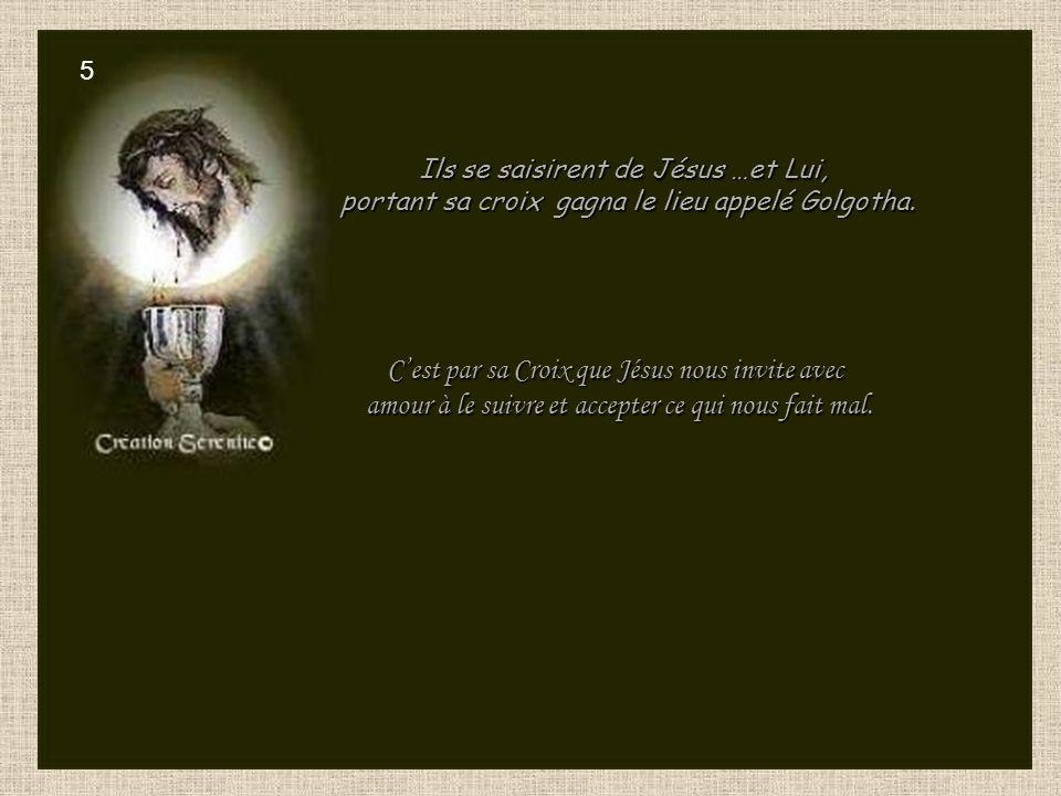 Jésus tombe pour la première fois.