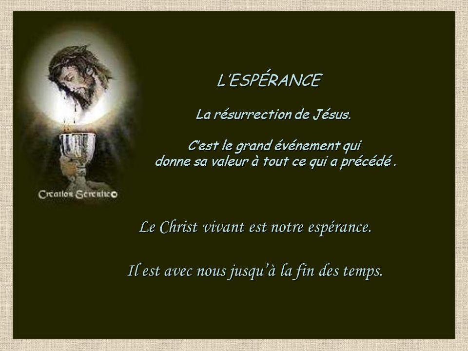 Pâques Que le Seigneur nous aide à ne pas être en retard dans notre amour pour nos frères et sœurs Dimanche
