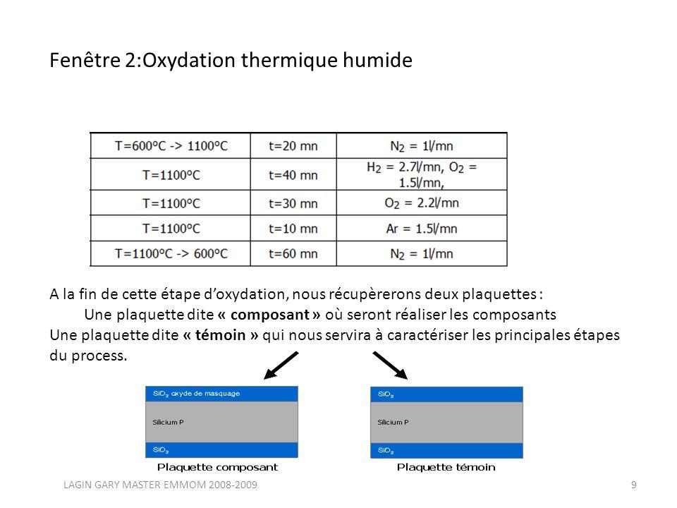Diffusion de la cathode Nous allons maintenant aborder la fabrication de la jonction PN.