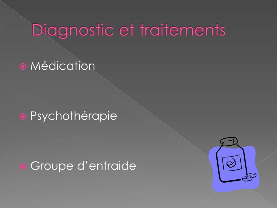 Médication Psychothérapie Groupe dentraide