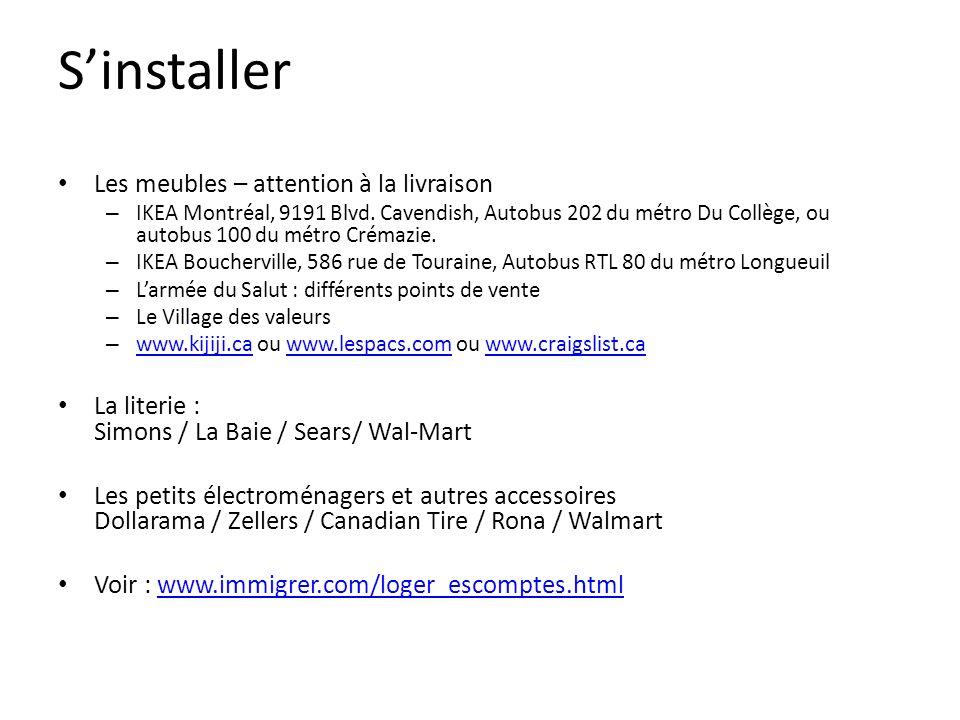 Sinstaller Les meubles – attention à la livraison – IKEA Montréal, 9191 Blvd.