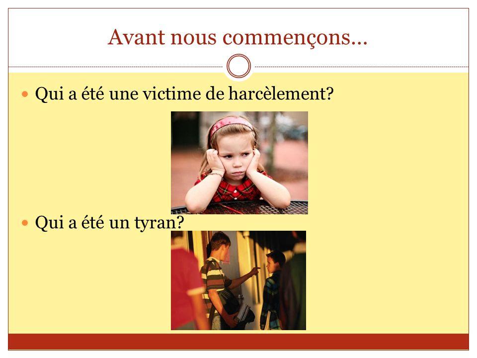 La Campagne Le ministère de lEducation lancé une campagne de sensibilisation contre le harcèlement a lécole le 24 Janvier 2012.