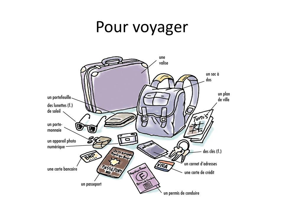 Pour voyager