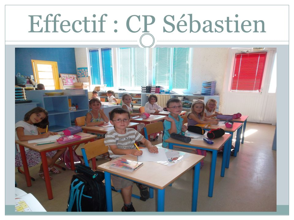 Effectif : CP Catherine