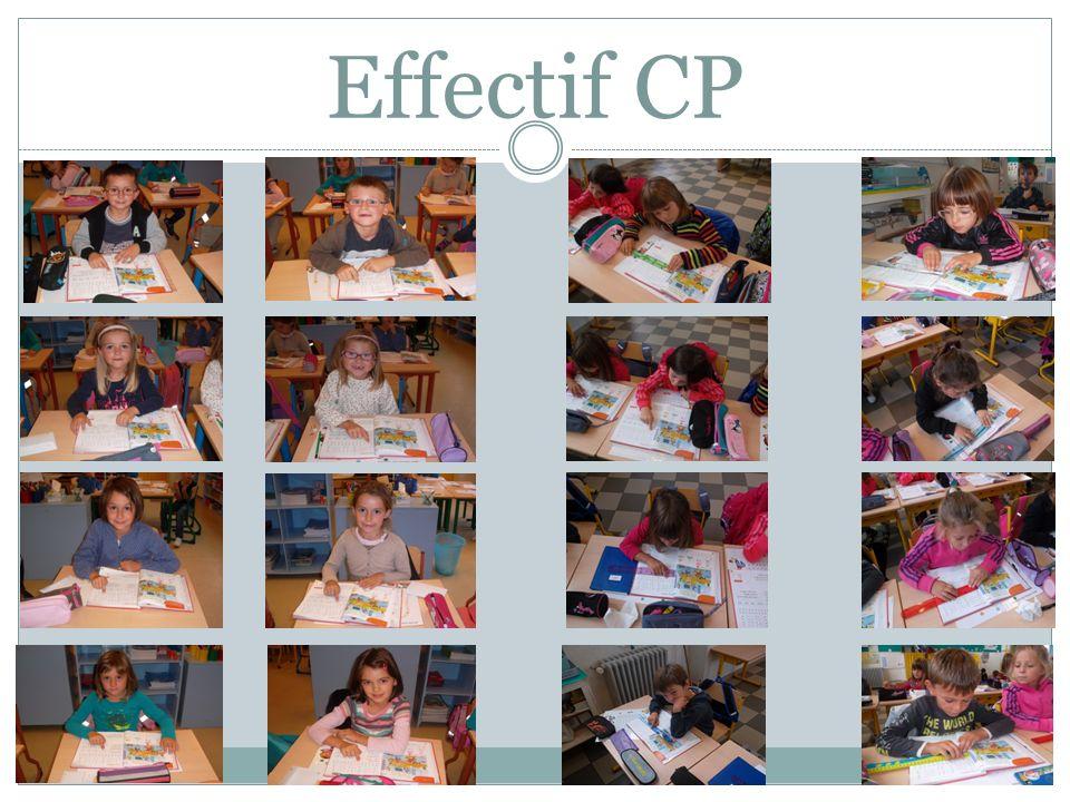 Effectif CP