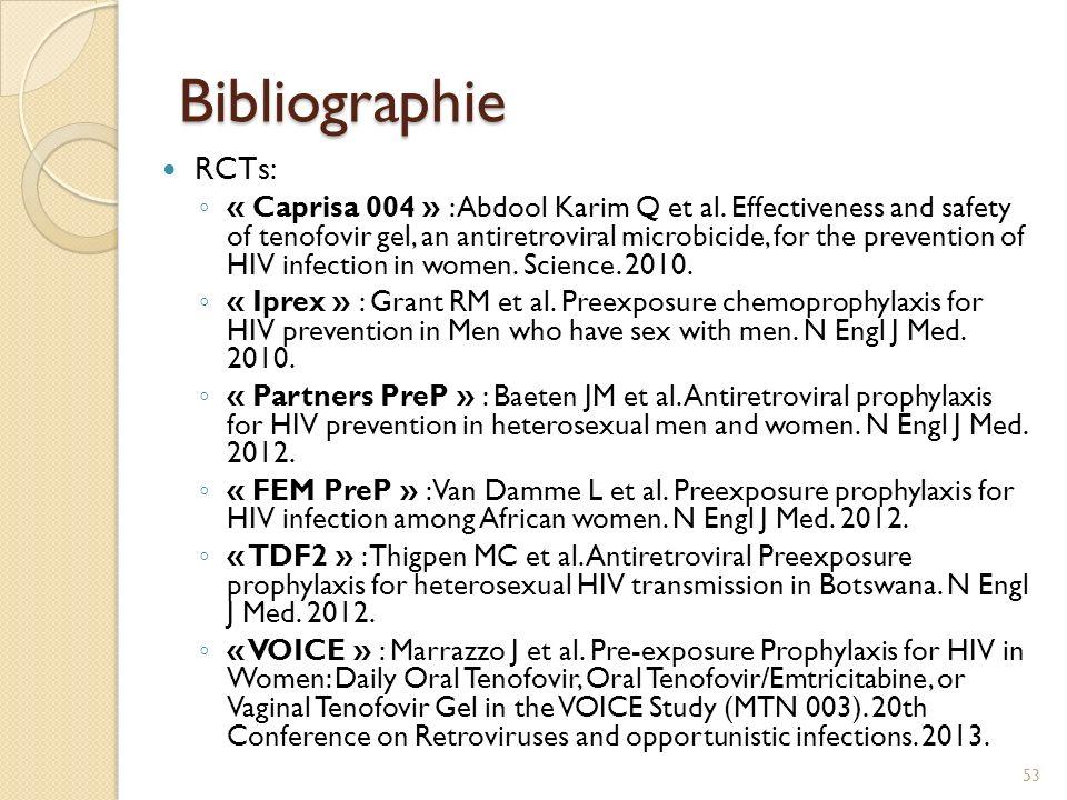 Bibliographie Cout-efficacité : Gomez GB et al.