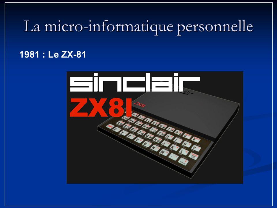 La micro-informatique personnelle 1981 : Le ZX-81