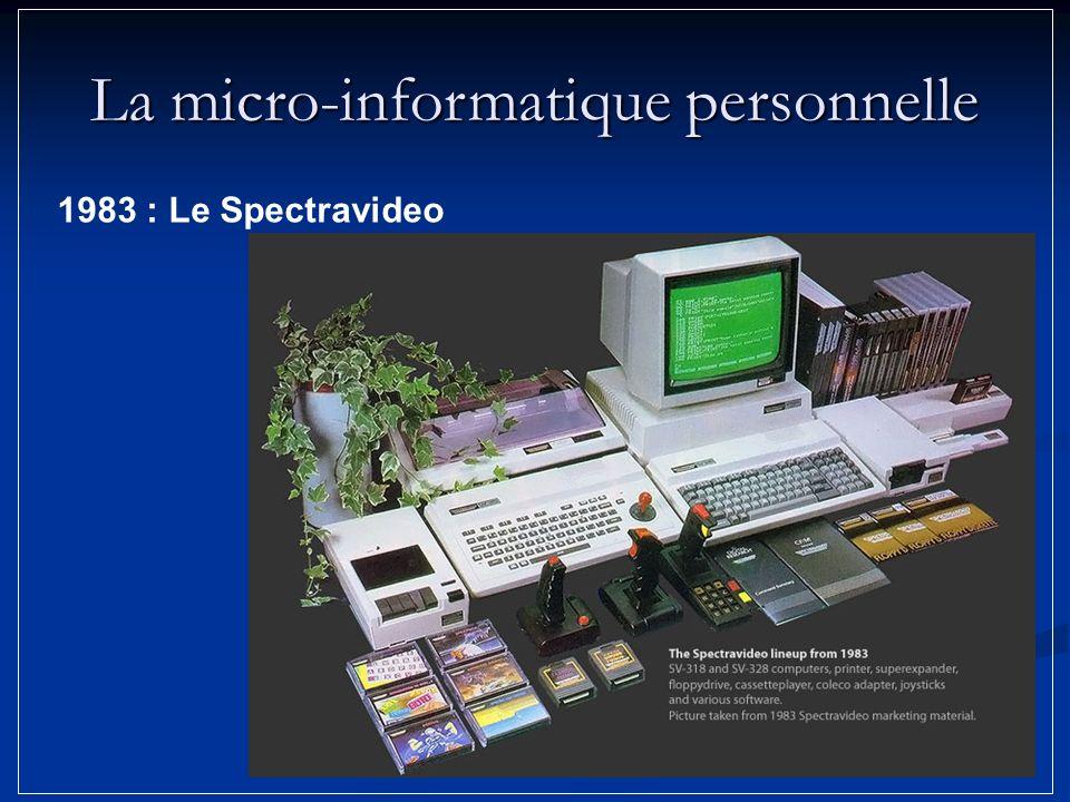 La micro-informatique personnelle 1983 : Le Spectravideo