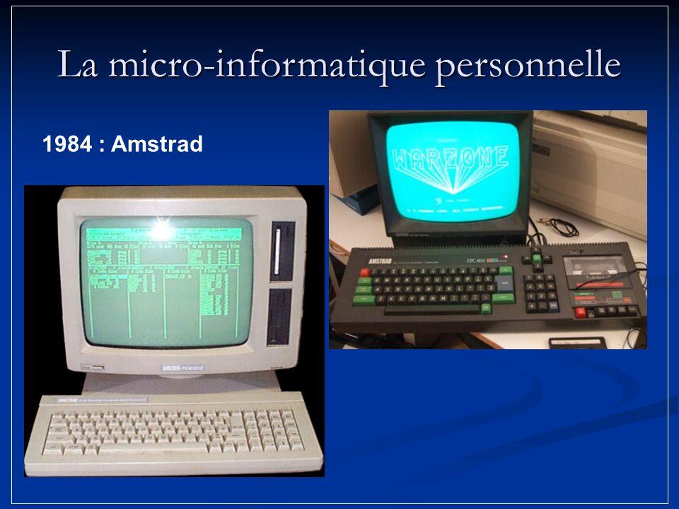 1984 : Amstrad La micro-informatique personnelle