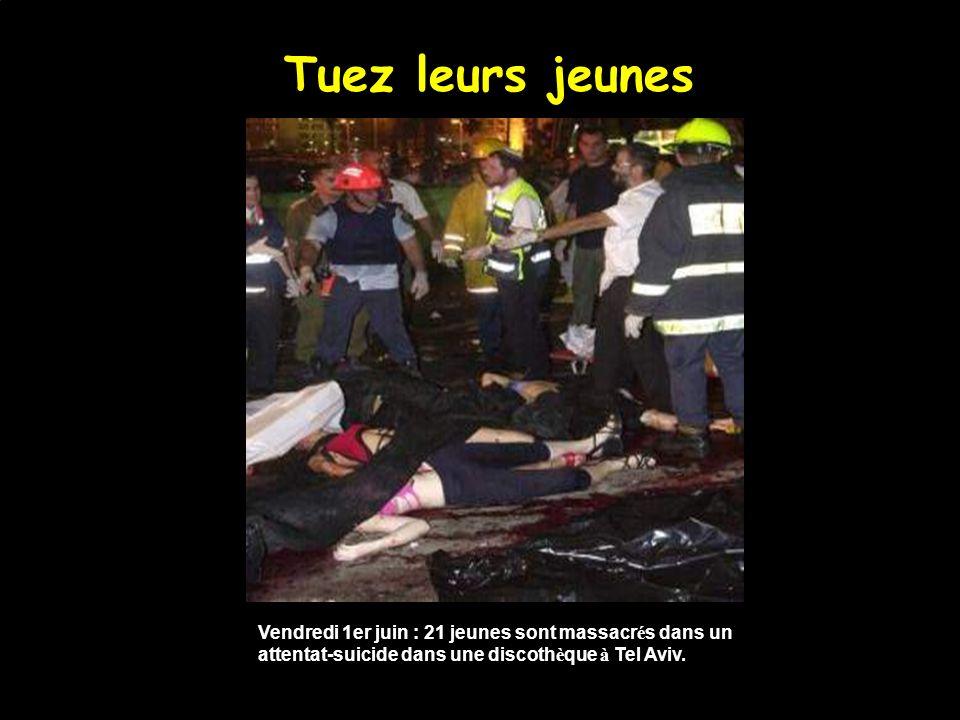 Tuez leurs familles Mars 2002 : Shlomo et Gafnit Nehmad et leurs filles Shiraz (7ans) et Liran, tu é s lors d un attentat-suicide à Beit Isra ë l.