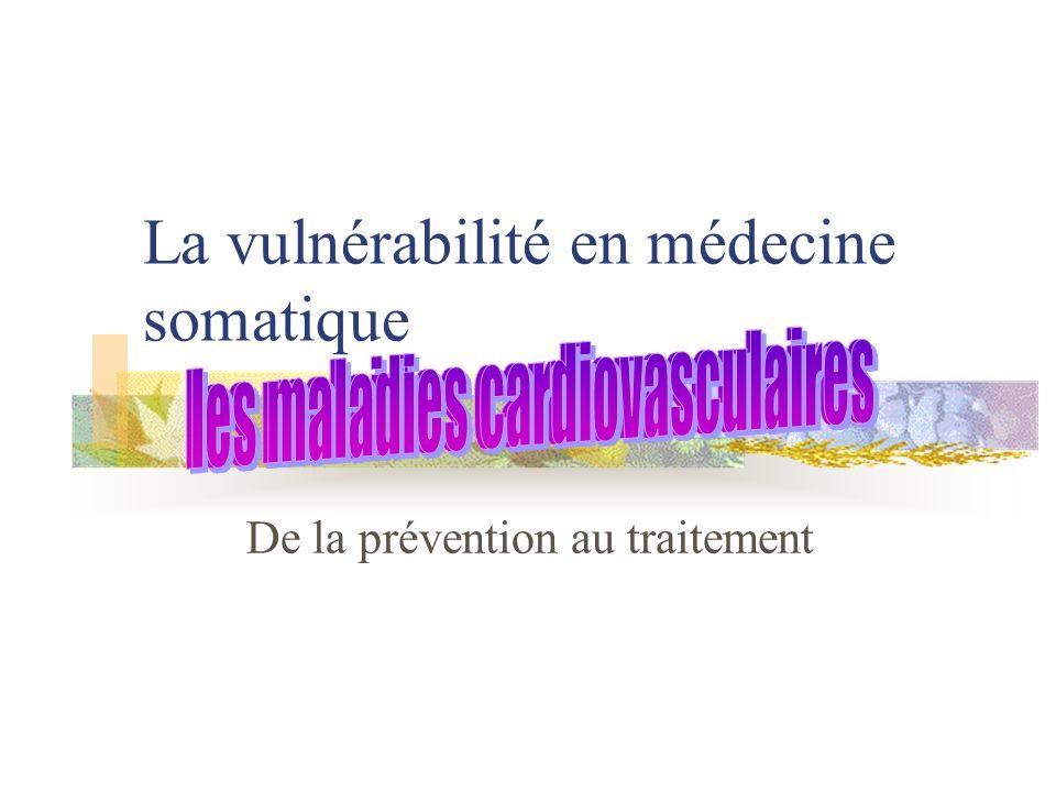 La vulnérabilité en médecine somatique De la prévention au traitement