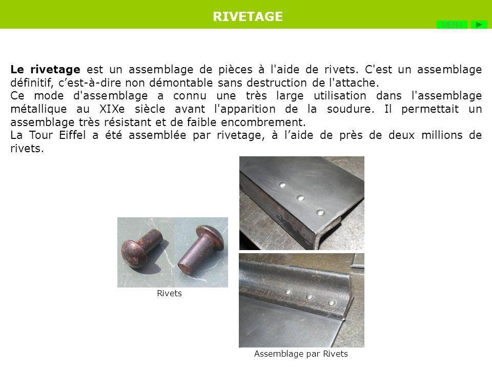 Le soudage est une opération de métallurgie consistant à exécuter un cordon fondu liant les bords de deux pièces. Il constitue le moyen dassemblage le