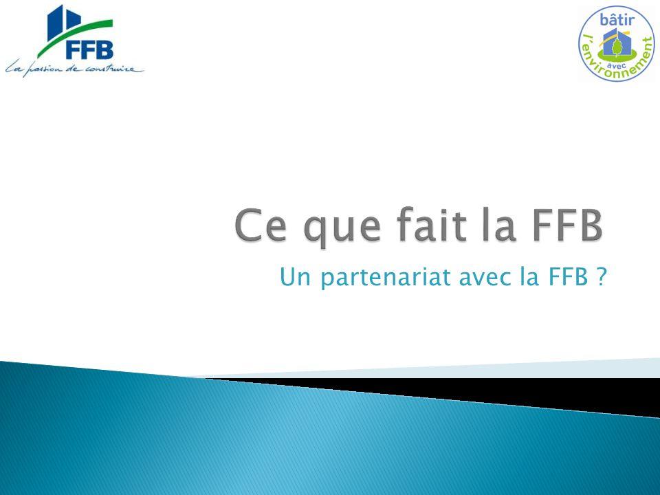 Un partenariat avec la FFB ?