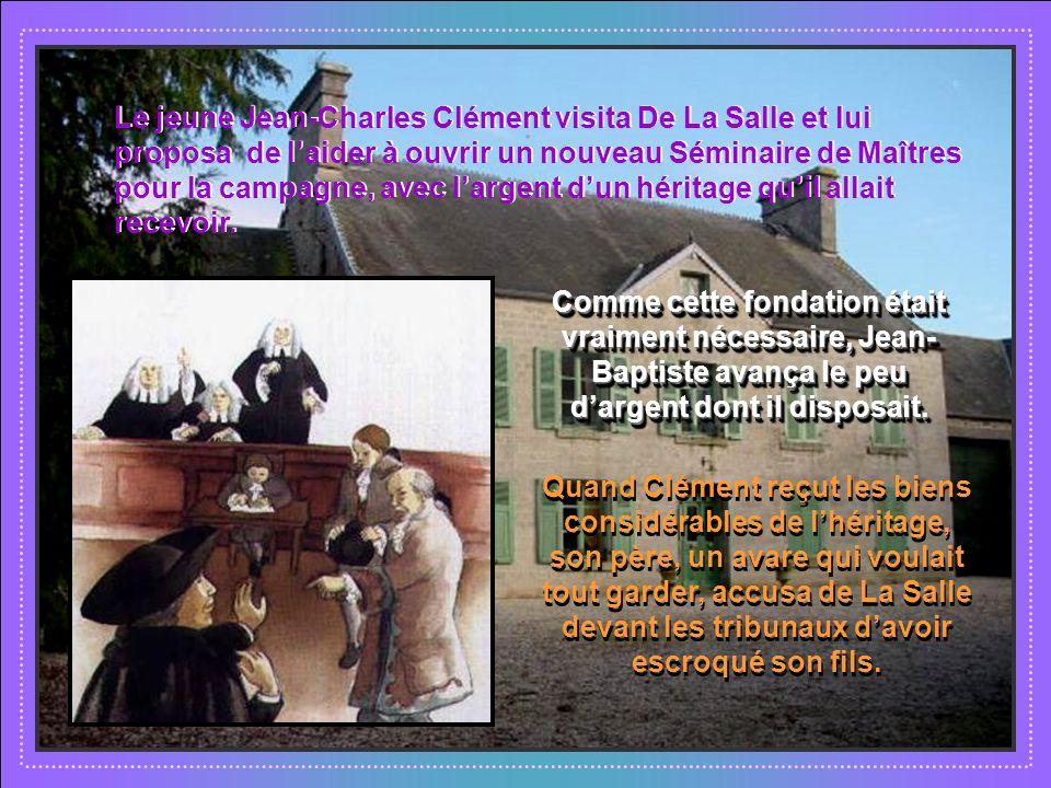 A Saint Yon Jean-Baptiste se consacra à organiser la communauté. Mais cela ne lempêchait pas de soccuper des pauvres qui lapprochaient. A Saint Yon Je