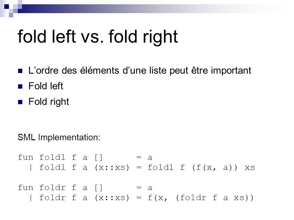 fold left vs.