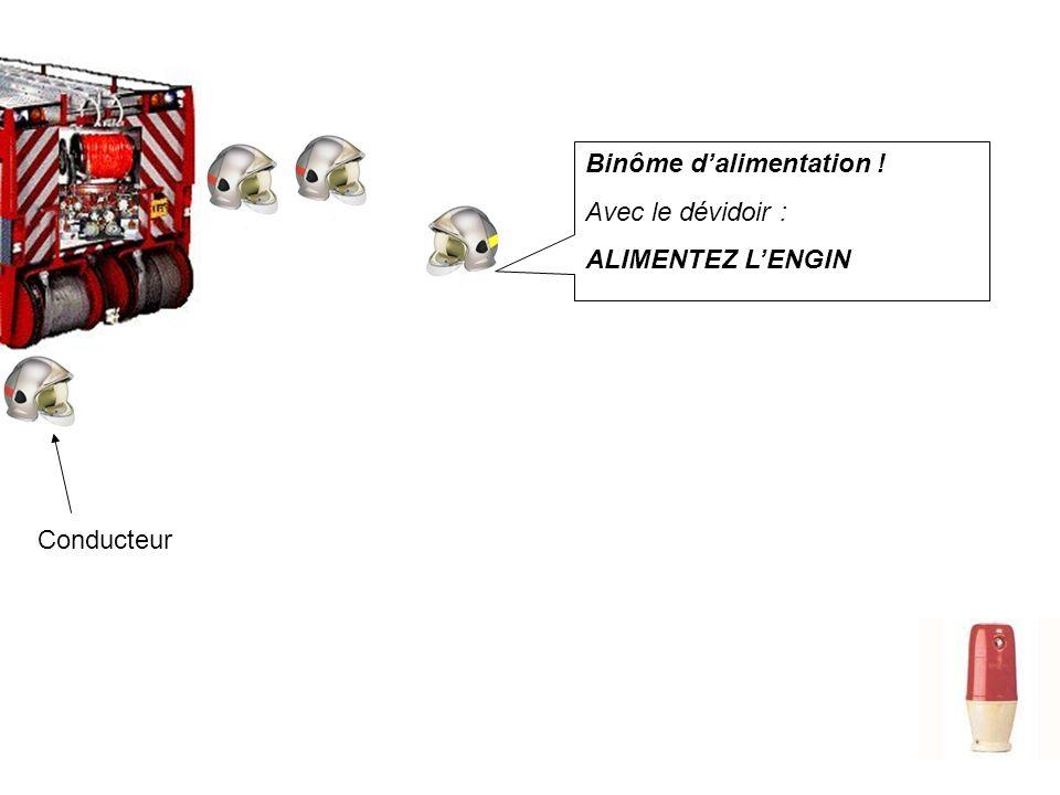 M4 Alimentation de lengin