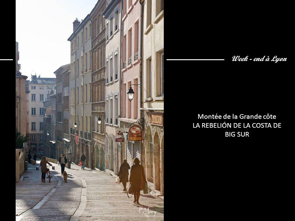Week - end à Lyon Rue Ste Marie des Terreaux CALLE SANTA MARÍA DE LOS SUELOS