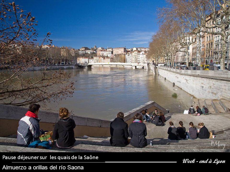 Week - end à Lyon Les bouquinistes des quais de la Saône LOS LIBREROS DE LAS ORILLAS DE LA SAONA