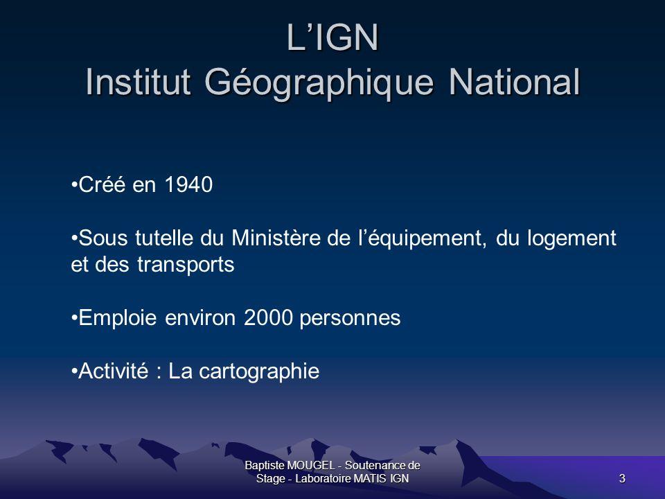 Baptiste MOUGEL - Soutenance de Stage - Laboratoire MATIS IGN14 La densification du MNE facette La construction du modèle dense à géométrie partagée.