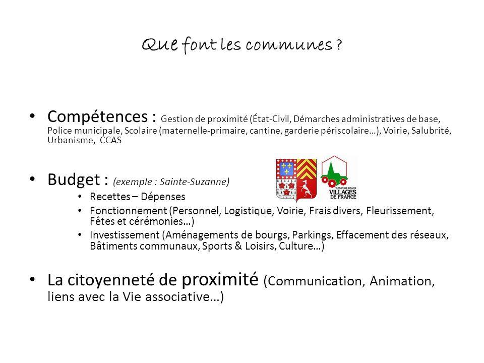 Un territoire cohérent Les Coëvrons : cohérence géographique (cf.