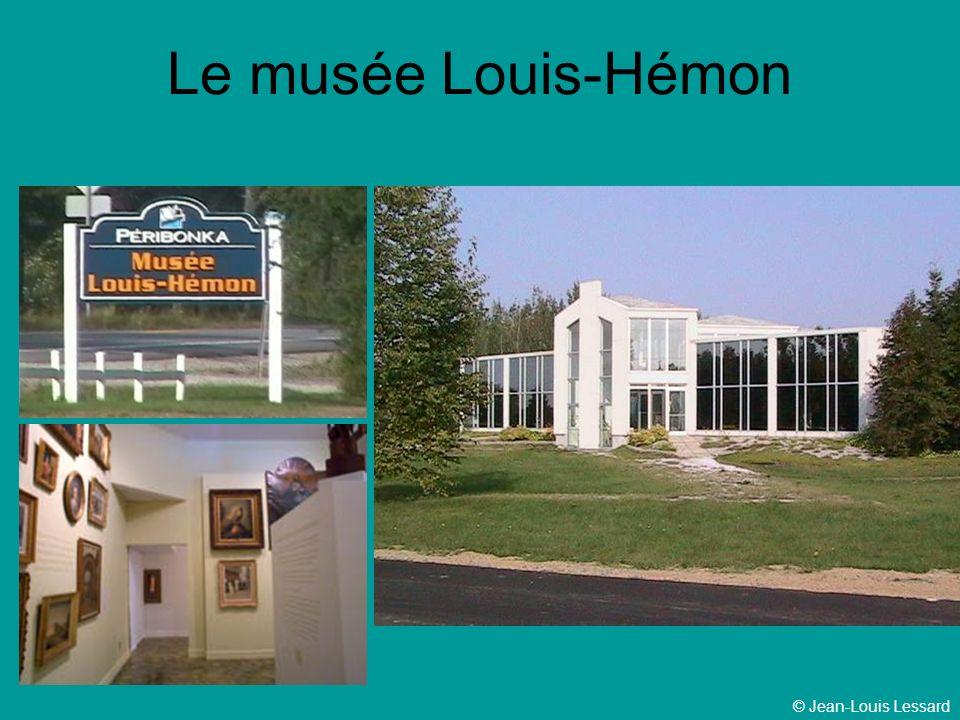 © Jean-Louis Lessard Le musée Louis-Hémon