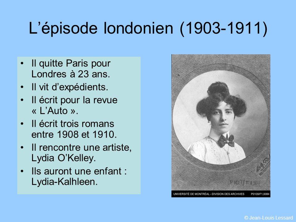 Les sources Louis Hémon est arrivé au Lac Saint-Jean le 29 juin 1912 et la quitté le 31 mars 1913.