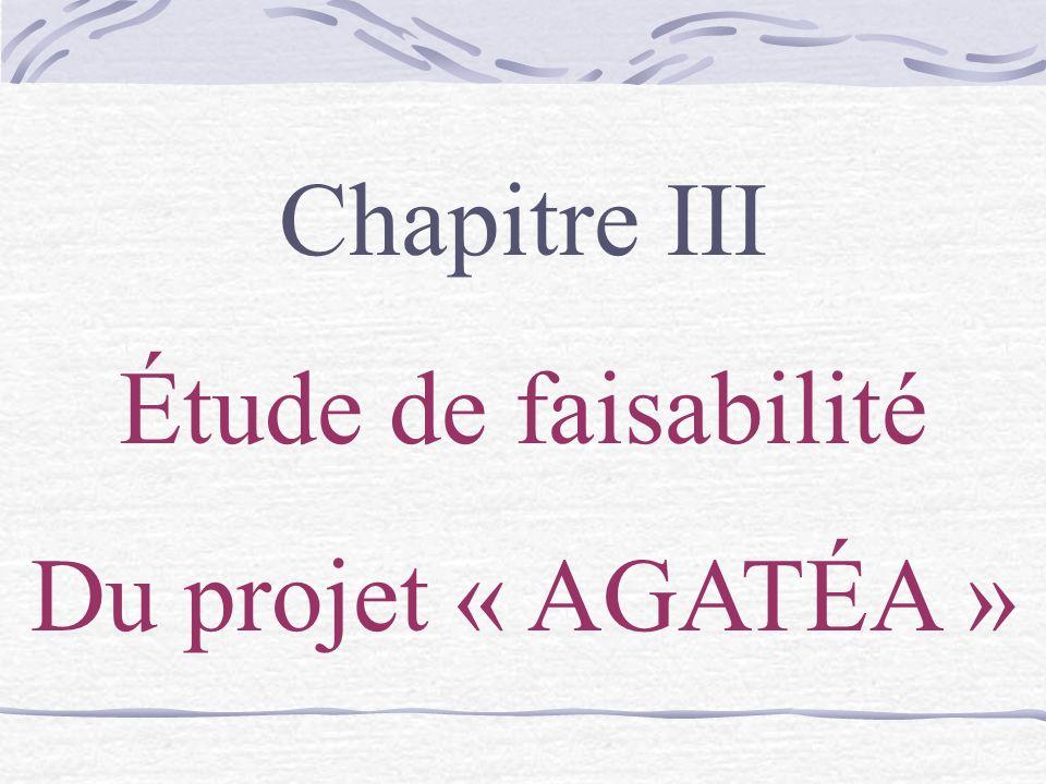Chapitre III Étude de faisabilité Du projet « AGATÉA »