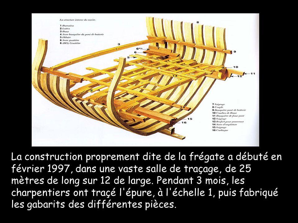 Le 15 janvier 1997 L entreprise Asselin, implantée à Thouars dans les Deux-Sèvres, a été retenue pour réaliser la 1 ère tranche de travaux à l issue d un appel d offres européen lancé pour la reconstruction de cette frégate.