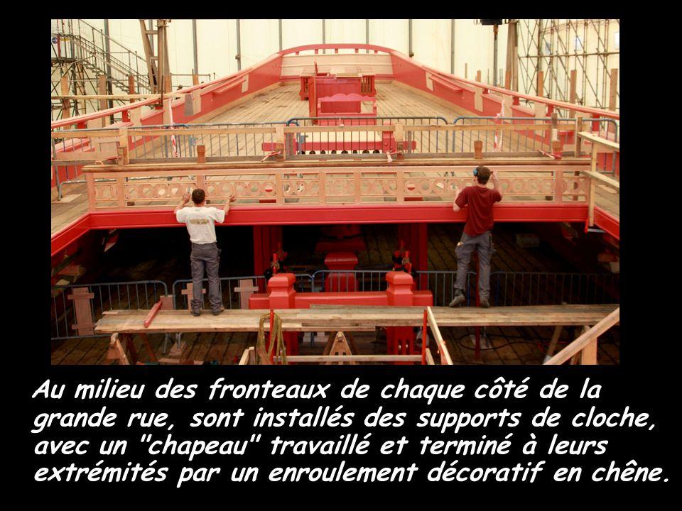 Le calfatage des oeuvres mortes de la coque 2010 février De la ligne de flottaison jusqu au pavois