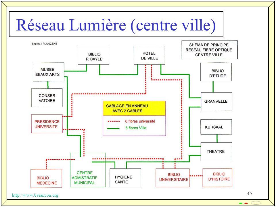 45 Réseau Lumière (centre ville) http://www.besancon.org