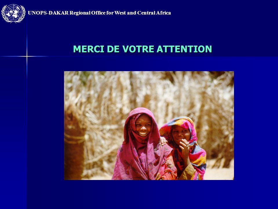 UNOPS-DAKAR Regional Office for West and Central Africa Les solutions proposées : Renforcement des capacités analytiques de lensemble des cadres de lU