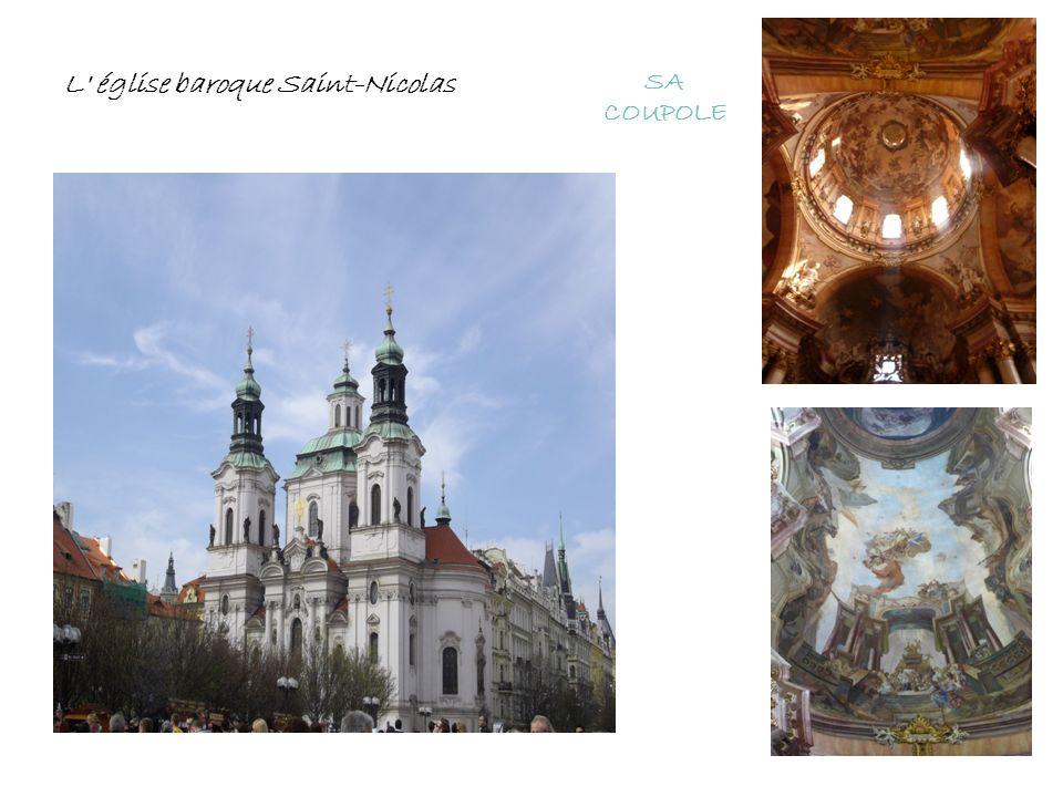 SA COUPOLE L' église baroque Saint-Nicolas