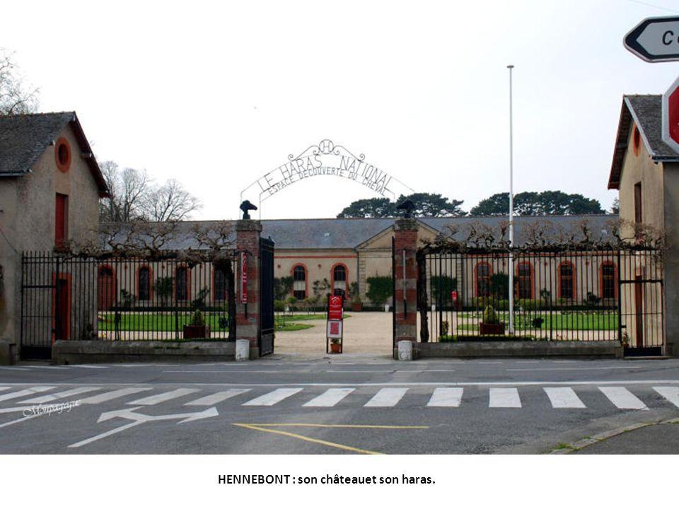 HENNEBONT : son château et son haras.