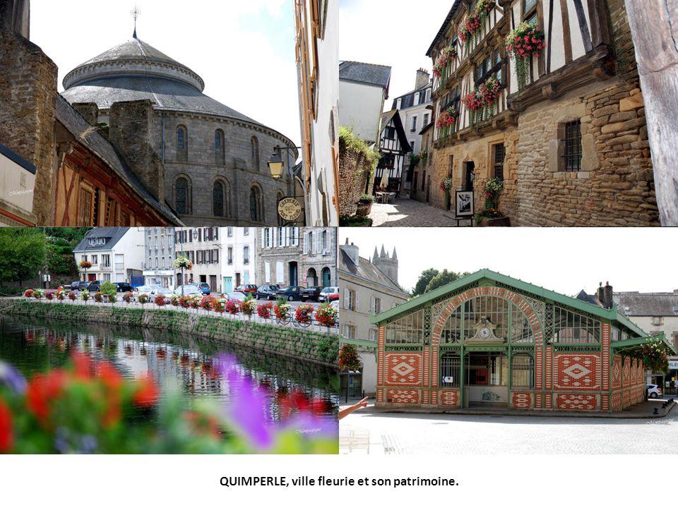QUIMPERLE, ville fleurie et son patrimoine.
