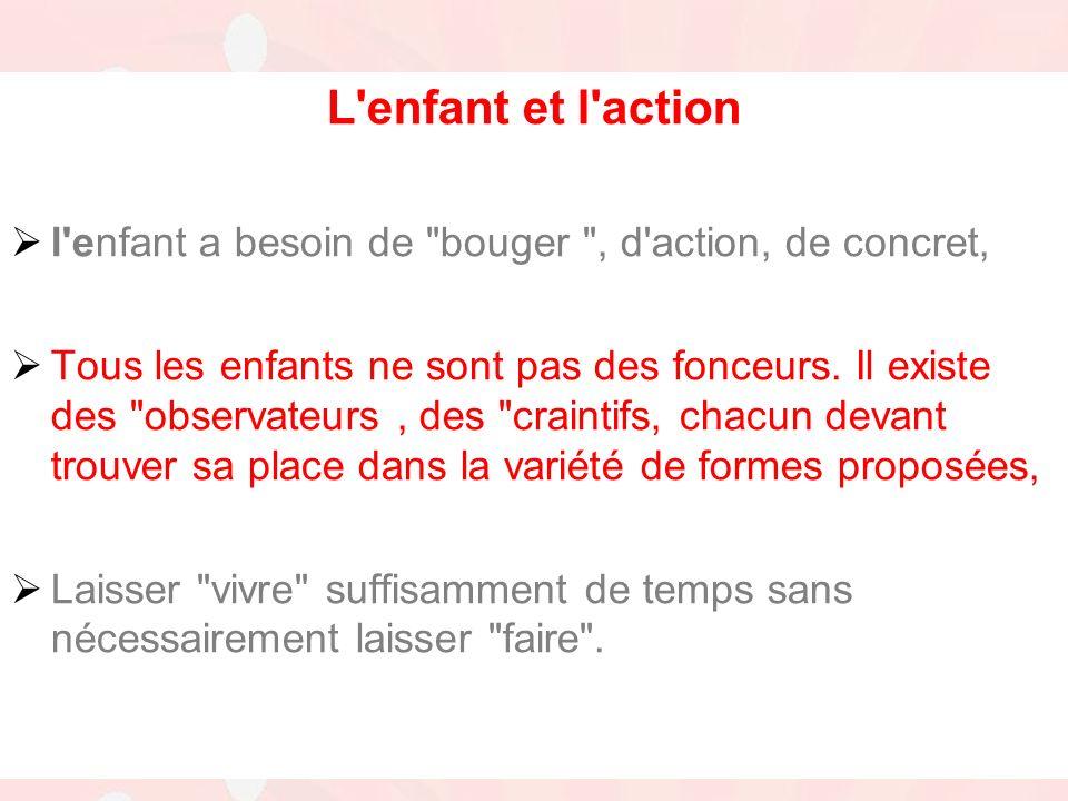 16 juin 2011Stade Langonnais - Assemblée Générale L enfant et l action l enfant a besoin de bouger , d action, de concret, Tous les enfants ne sont pas des fonceurs.